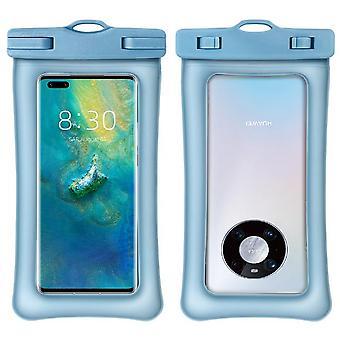 Étui étanche, sac sec transparent de poche de téléphone imperméable à l'eau de Pvc pour la natation