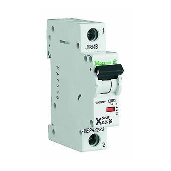 1-pôle 1-Module 16/25/32 a 230/400VAC Circuit Breaker Eaton CLS6-D16/25/32-DP