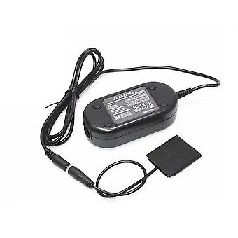 Dot.Foto erstatning Sony AC Adapter Kit (AC-LS5 AC innlagt strøm Adapter & DK-1N DC Coupler) - leveres med EU 2-pins nettkabel for Sony Cyber-shot DSC-WX5, DSC-WX7, DSC-WX9, DSC-WX30, DSC-WX50, DSC-WX70, DSC-WX100, DSC-WX150