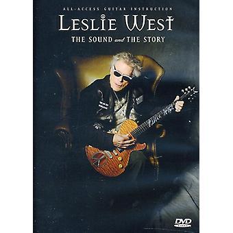 Leslie West - Sound & the Story [DVD] USA import