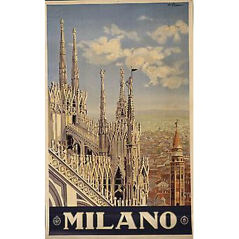 Milano Poster Print Giclee