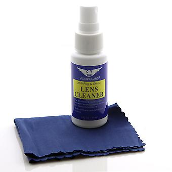 Vision Guard Anti-Fog & Static Lens Cleaner + Cloth