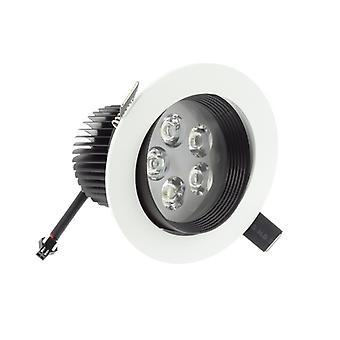 I LumoS High Quality Epistar 5 Watts Black & White Warm White LED Tiltable Recessed Spot Down light
