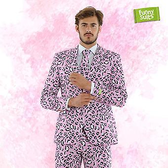 Rosie JAG Jaguar pink suit Mister pink 3 piece costume deluxe EU SIZES