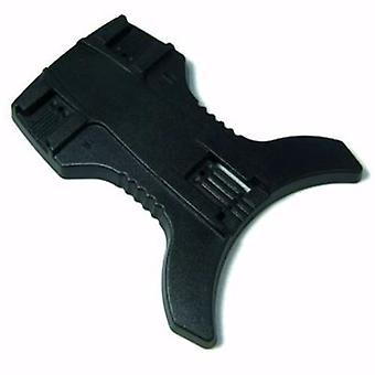 JJC mini flash állvány, három pozíció a nagy rugalmasság-alkalmas Canon Speedlite 380EX, 430EX, 580EX & Nikon SB600, SB800, SB900