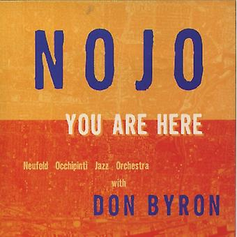 Nojo - You Are Here [CD] USA import
