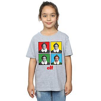 Elf Girls Four Faces T-Shirt