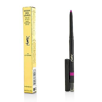 Yves Saint Laurent Dessin Des Levres The Lip Styler - # 19 Le Fuchsia - 0.35g/0.01oz