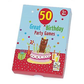 50 ألعاب حفلة عيد ميلاد كبيرة