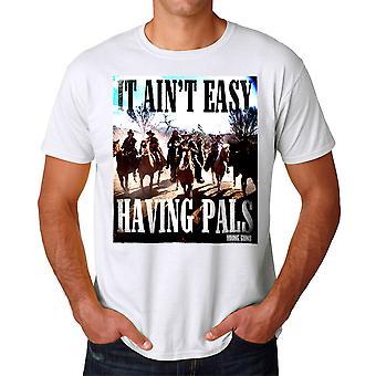 Young Guns Ain't Easy Men's White T-shirt