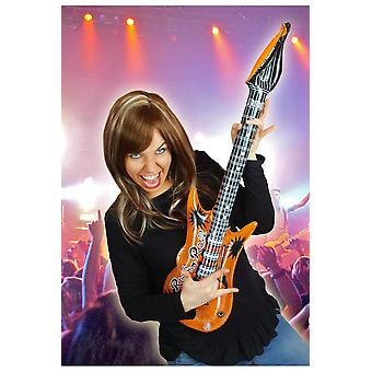 Supporters articles and musical instruments  Inflatable guitar