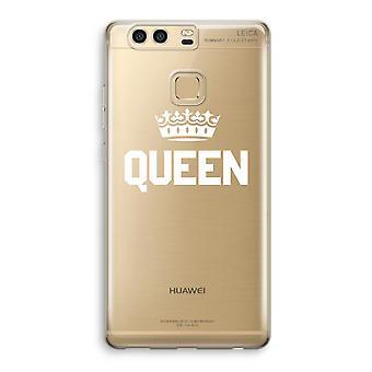 Huawei P9 gjennomsiktig sak (myk) - Queen svart