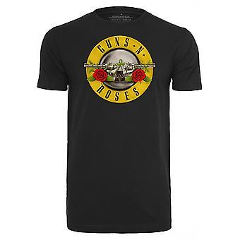 החולצה העירונית הקלאסית אקדח ' s ורדים לוגו