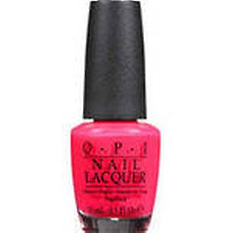Nicole By Opi Nail Lacquer, Nl B35 Charged Up Cherry, 0.50 Fl Oz