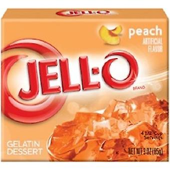 Jell-O Peach gelatină desert Mix