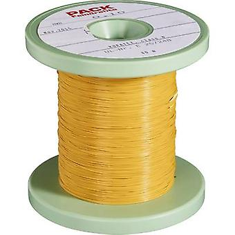 Pack Litz Wire Enamel-coated copper wire Outside diameter (incl. coating)=0.80 mm Outside diameter (w/o coating): 0.60 mm 50 m
