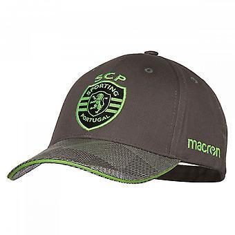 2018-2019 Sporting Lisabona macron baseball cap (gri)
