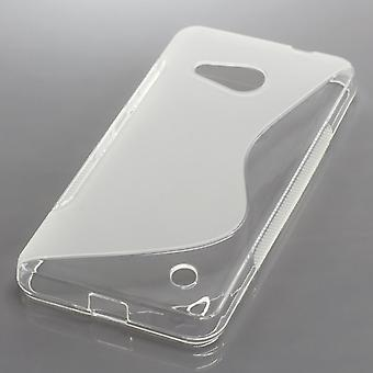 OTB TPU CASE COMPATIBLE WITH MICROSOFT LUMIA 550 S-CURVE TRANSPARENT