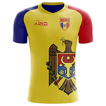 2018-2019 Moldova Home Concept Football Shirt (Kids)