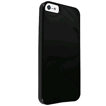 Technocel solide TPU Slider Skin for Apple iPhone 5 - zwart