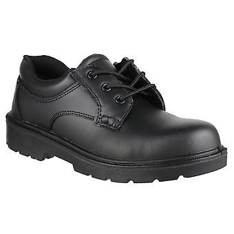 Amblers Mens FS38C skinn sammensatte sikkerhet Oxford skoen S1-P-SRA