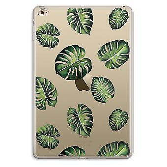 iPad Mini 4 przezroczyst (Soft) - tropikalne liście