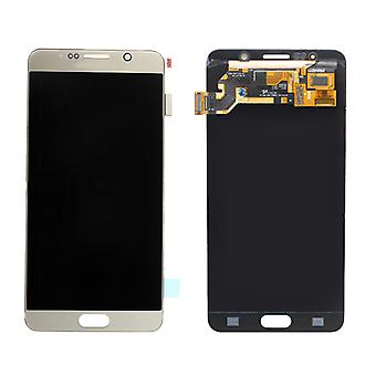 Replacement LCD Screen + Digitizer (Pre-Assembled) for Samsung Galaxy Note 5 (Gold)