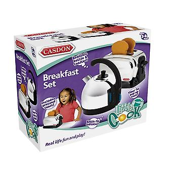 Casdon Little Cook Kettle and Toaster Set