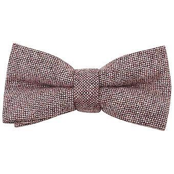 Knightsbridge Neckwear flekkete sløyfe - myk rosa