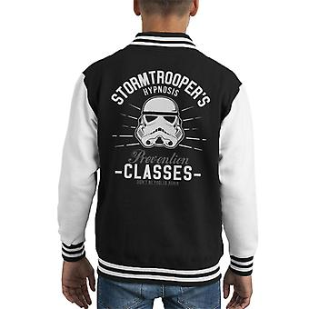 Original Stormtrooper Hypnosis Prevention Classes Kid's Varsity Jacket