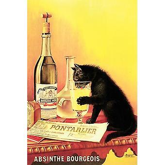 Absinthe Bourgeois Poster Print (12 x 18)