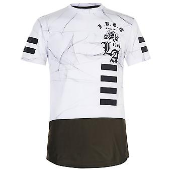 Fabric Mens Smoke T Shirt Crew Neck Tee Top Short Sleeve Round Lightweight