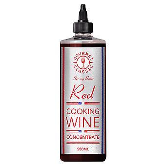 グルメ クラシック赤ワイン濃縮物を調理