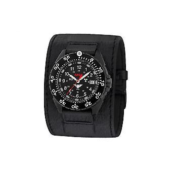 KHS mens orologi titanio enforcer nero KHS. ENFBT. LC
