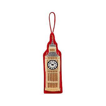 Union Jack Wear Big Ben Christmas Tree Decoration