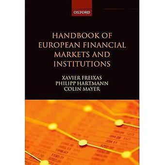 Manuale dei mercati finanziari europei e delle istituzioni