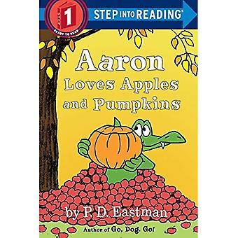 Aaron houdt van appels en pompoenen (stap in lezing. Stap 1: Klaar om te lezen)