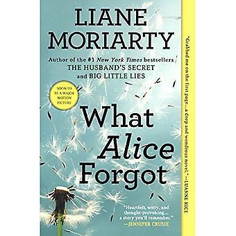 Ce que j'ai oublié Alice