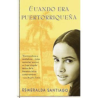 Cuando Era Puertorrique Na (Espaanol Vintage)