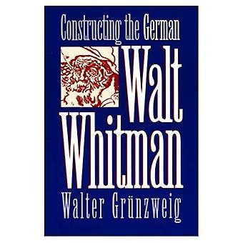 Construire l'allemand Walt Whitman