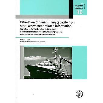 Schatting van de vangstcapaciteit van de tonijn uit voorraad beoordeling-gerelateerde informatie: Workshop om verdere ontwikkeling, Test en een methode wilt toepassen voor de schatting