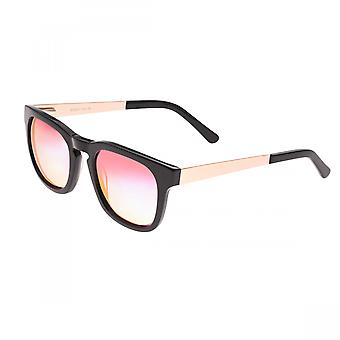 Sixty One Twinbow Polarized Sunglasses - Black/Pink