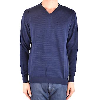 Altea Ezbc048110 Men's Blue Cotton Sweater