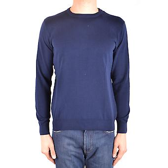 Altea Ezbc048108 Men's Blue Cotton Sweater