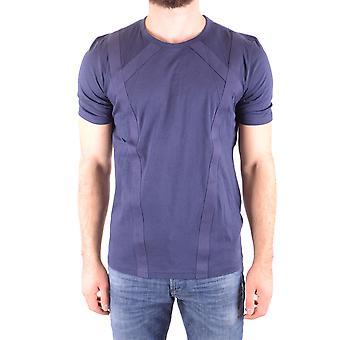 Diesel Black Gold Ezbc065032 Men's Blue Cotton T-shirt