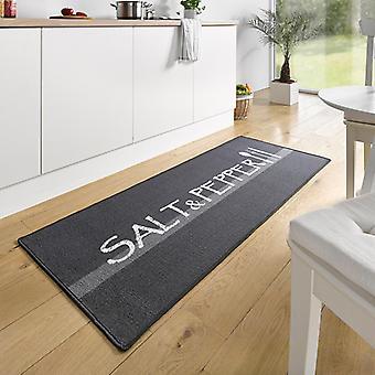 Sal de corredor ante cocina de diseño y de la pimienta Grau Weiß 67 x 180 cm | 102395