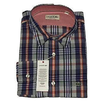 Lacoste Men's Long Sleeve Shirt CH2284-G74 - Regular Fit