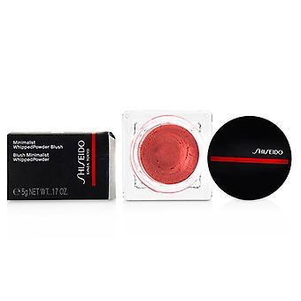 Shiseido Minimalist Whippedpowder Blush - # 01 Sonoya (warm Pink) - 5g/0.17oz