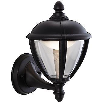 Firstlight-LED utomhus vägg Lantern uplight svart IP44-3400BK