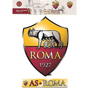 Autocollants muraux officiels Roma (lot de 2)